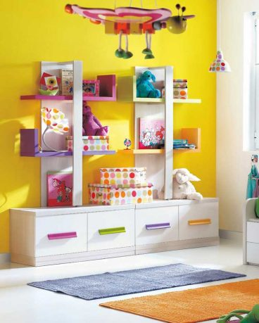 Cool Yellow Baby Room Design Inspirations