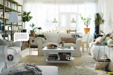 IKEA Living Rooms Inspiration Ideas