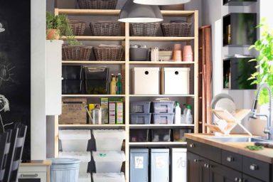 Creative IKEA Kitchen Storage Organization Ideas 2012