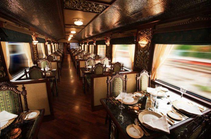 Beautiful Train Dining Carriage