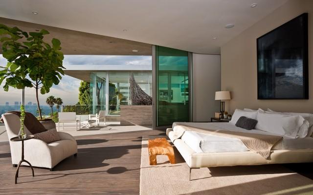 Indoor Outdoor Bedroom and View