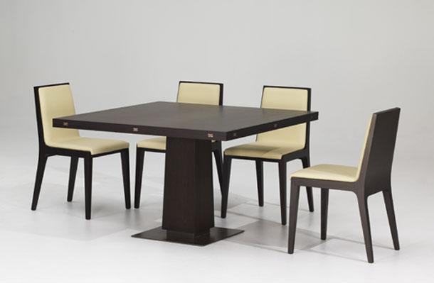 Mahogany Square Dining Table Design