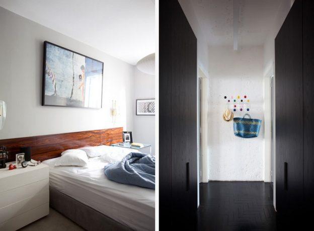 Minimalist Main Bedroom Apartmen Design
