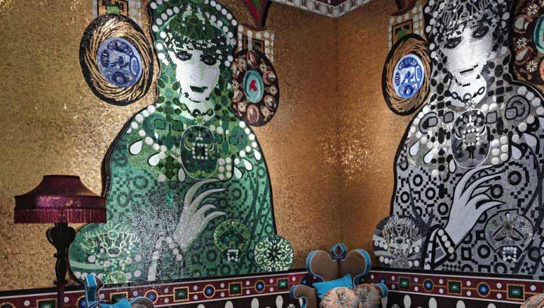 Mosaic Art Wall Decorations Living Room