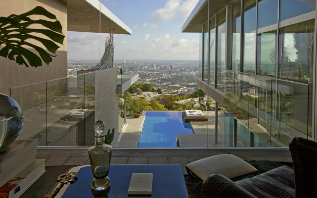 Open Living Room with Beautiful View