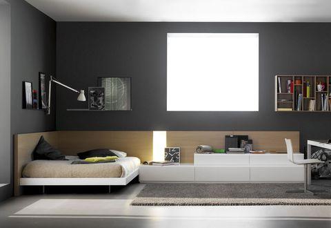 Simple and Elegant Teen Bedroom Design