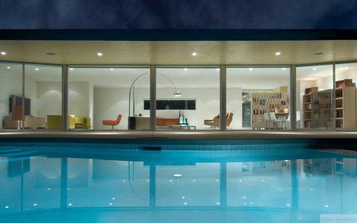 Stunning Living Room Pool Inspirations