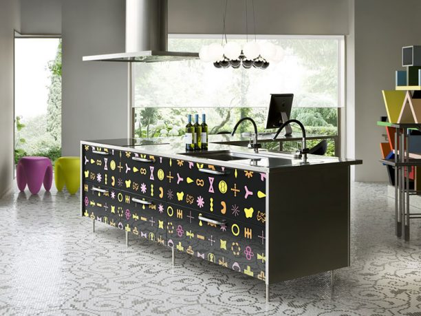 Karim Rashid Kitchen witth Teen Theme Ideas