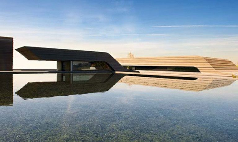 Amazing House Work of Art Design 2012