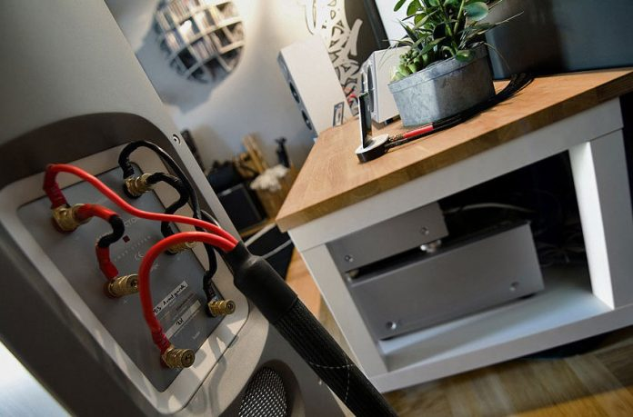 EntertainmentConnection with Neat Cable Organization