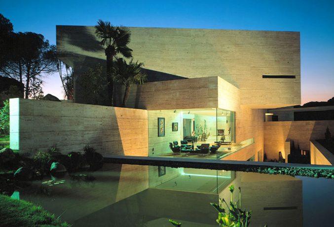Exotic Exterior Wall Desig Ideas