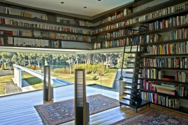 Modern The Library House 2012 Design