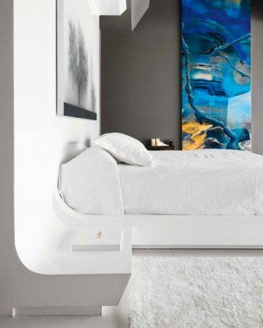 Modern White Bedroom Furniture Inspirations