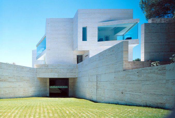 White Geometrical Exterior Inspirations