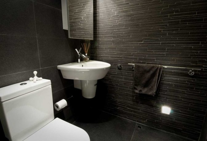 Awesome Wetroom with Slate Tile Decor