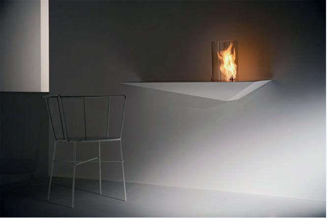 Prisma Console Wall Fireplace Ideas