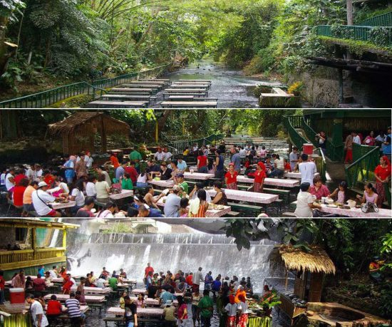 Fabulous Waterfalls Restaurant in River Design