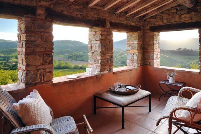 Amazing Villa Balcony with Beautiful View