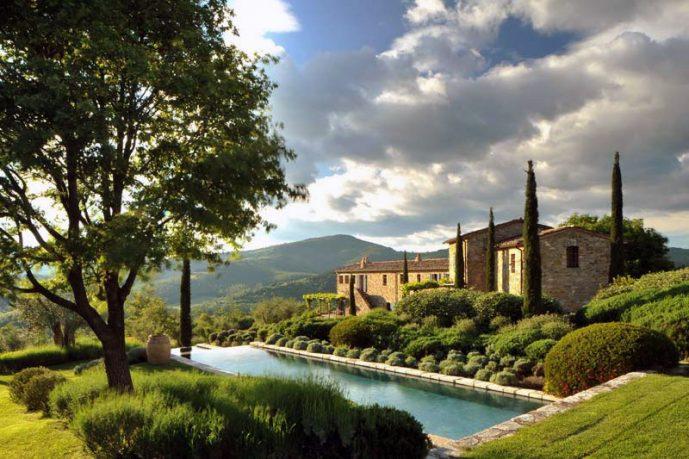 Beautiful Col Delle Noci Italian Villa Landscape