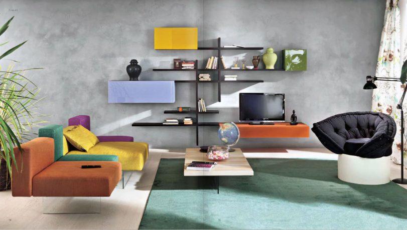 Colorful Sofa Furniture Living Room