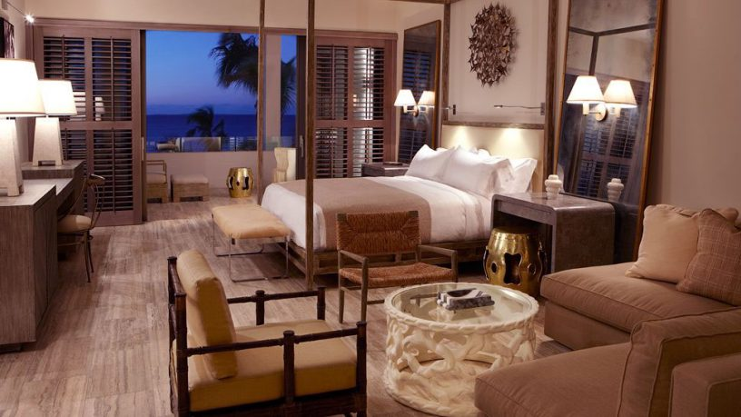 Bedroom with Lounge Lead Out to Ocean Panorama
