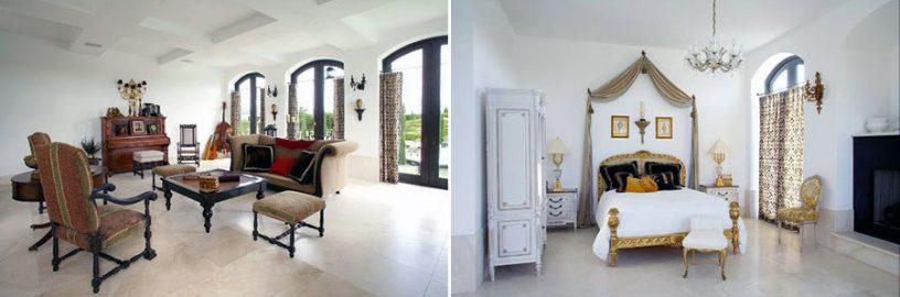Luxury Castle Bedroom Living Room Design