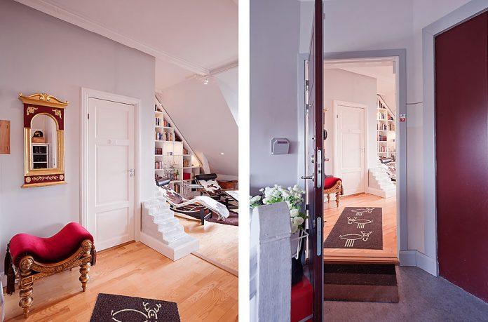 Modern Classic Apartment Hallway Design Ideas