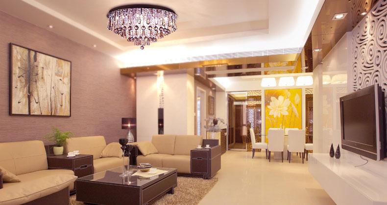 Beautiful Living Room Brown Beige Dining Room
