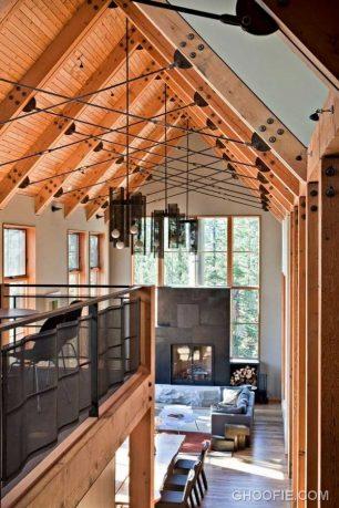 Unique Ceiling Design Ideas with Hanging Lamps
