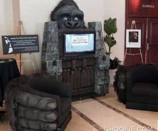 Appealing King Kong Inspired Home Theater Design Ideas