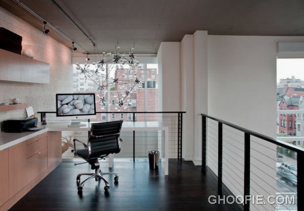 Charming Airy Office Design with Herman Miller Chair