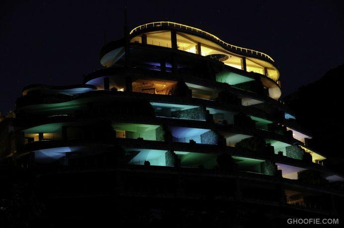 Amazing Lamp Architecture Jade Mountain Resort