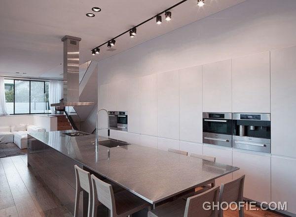 Minimalist Kitchen for Modern Family House Design Ideas