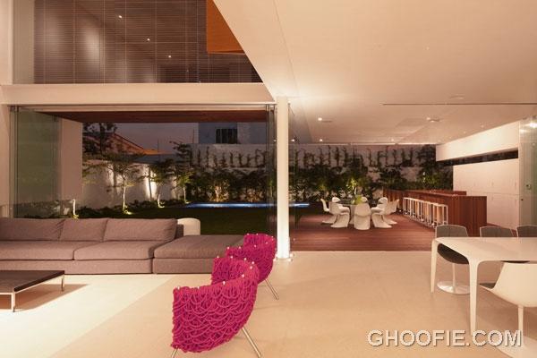 Bright Elegant Living Area for Modern House Design Ideas
