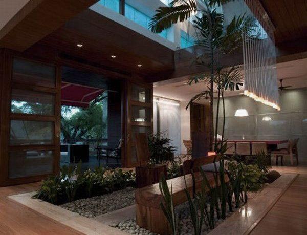 Contemporary Small Indoor Garden Design Ideas