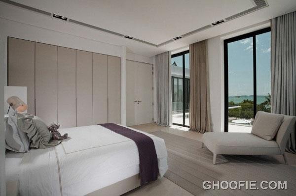 Modern Minimalist Bedroom Design Ideas with Beautiful Sea Views