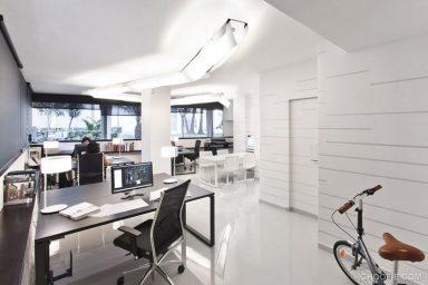 Representative White Office Interior Design