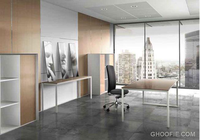 Simple minimalist office interior design ideas