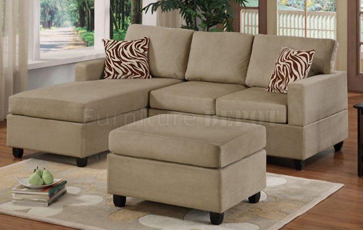 Marvelous Modern Minimalist Gray Small Sectional Sofa Design