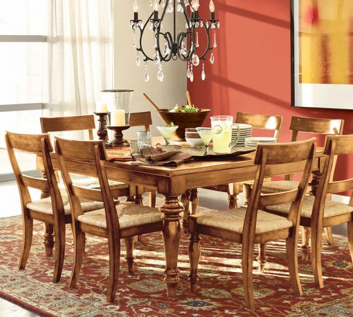 Dining room collection from Pottery Barn