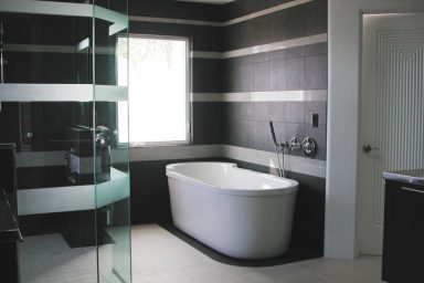 Black & White Bathroom Design Ideas