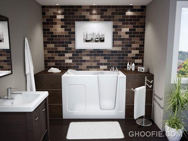 Contemporary Bathroom Design Ideas - Black and White