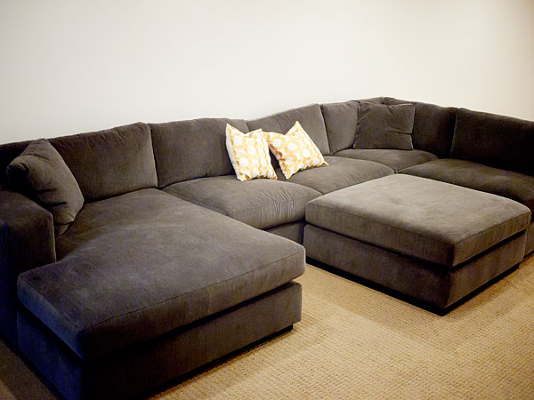 Simple cozy couch
