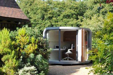Creative small home office design