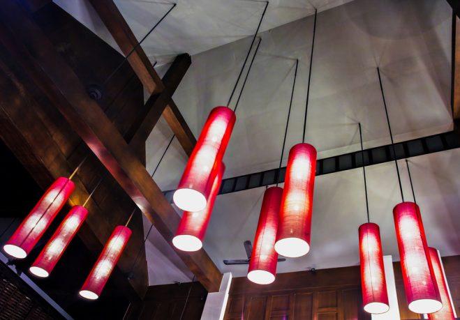 Cool red lighting fixtures