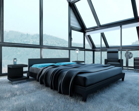 Great mountain view bedroom