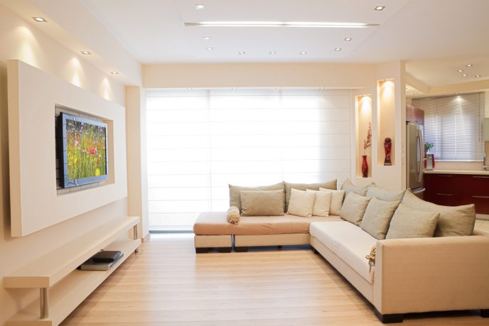 Natural light with wood floor