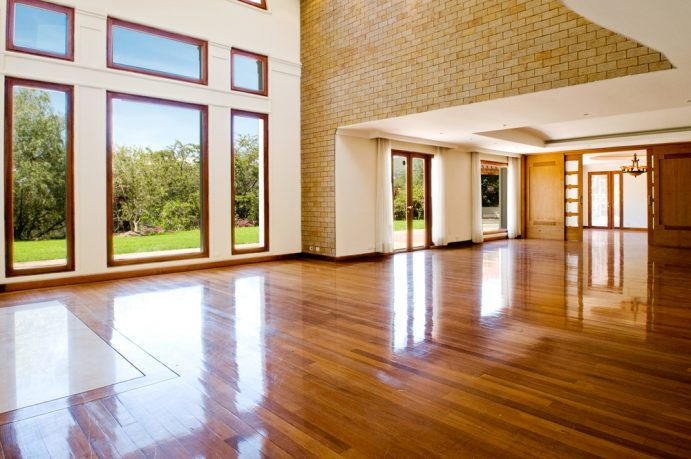 Natural lighting with wood floor