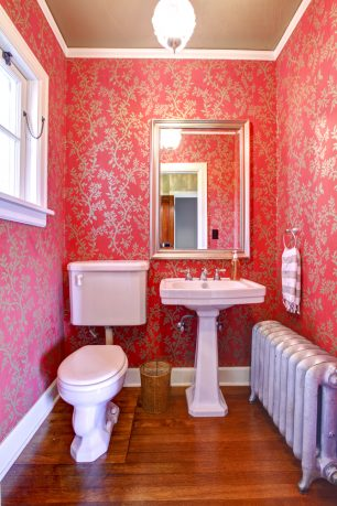 Small pink bathroom ideas