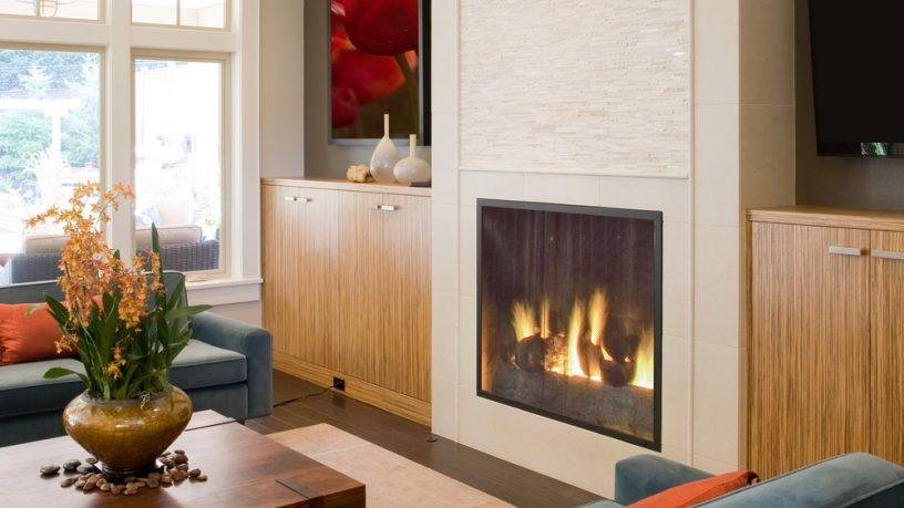 Amazing fireplace living room